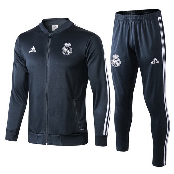 Chandal Real Madrid 2018/2019 Gris Marino Replicas Futbol